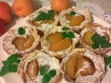 Morelowe ciasteczka z waniliową polewą