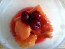 Morelowe lody lub jak ktoś woli owocowy sorbet