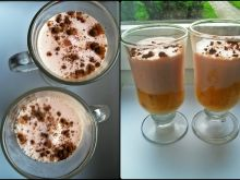 Morelowo-wiśniowy shake