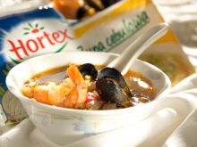 Morska zupa cebulowa