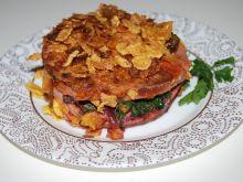 Mortadela z botwinką i serem feta