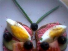 motyl z kanapki