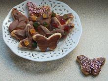 Motylki  z czekoladą