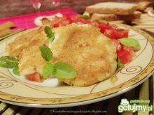 Mozzarella smażona z salsą
