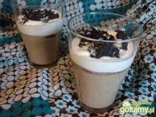 Mrożona kawa z ciasteczkiem