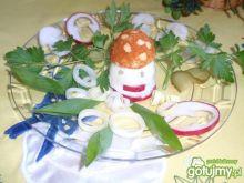 Muchomorek z jajka