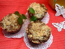 Muffinki duże z posypką