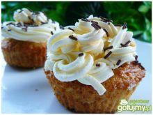 Muffinki  amaretto z mascarpone