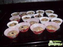 muffinki bananowo-cynamonowe z mussli