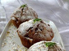 Muffinki bananowo-czekoladowo-orzechowe