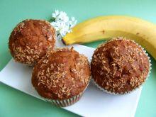 Muffinki bananowo-kokosowe