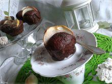 Muffinki brownie z jabłuszkiem