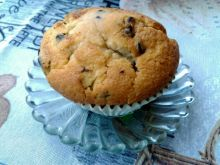 Muffinki cytrynowe z groszkami