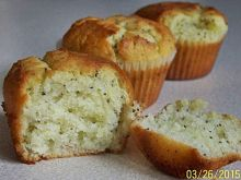 Muffinki cytrynowe z nasionami chia