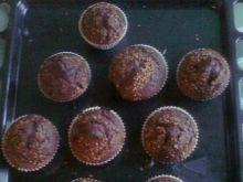 Muffinki czekoladowe z konfiturą