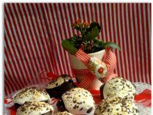 Muffinki czekoladowe z lukrem