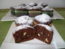 Muffinki czekoladowe z miętą i melisą