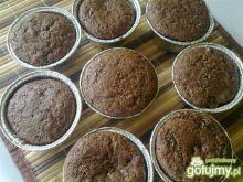 Muffinki czekoladowe z rodzynkami