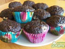 Muffinki czekoladowe  z serkiem