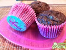 Muffinki czekoladowo- bananowe