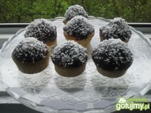 Muffinki czekoladowo- kokosowe