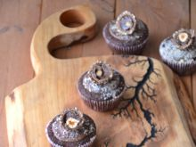 Muffinki czekoladowo-orzechowe