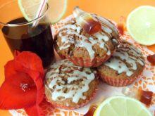 Muffinki czekoladowo-orzechowe z coca-colą