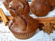 Muffinki czekoladowo-piernikowe z nutą chili