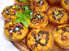 Muffinki dyniowe z  bakaliami