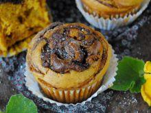 Muffinki dyniowe z nutellą