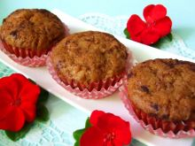Muffinki jabłkowo-cynamonowe