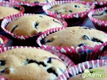 Muffinki jagodowe