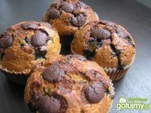 Muffinki jagodowe-pieguskowe