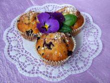 Muffinki jagodowo-kokosowe