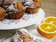 Muffinki kajmakowo – pomarańczowe na jogurcie
