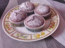 Muffinki kakaowo-bananowe