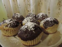 Muffinki kakowo-waniliowe