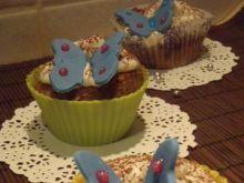 Muffinki kawowe z motylkami