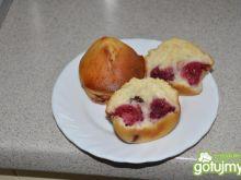 muffinki malinowe