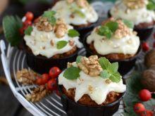 Muffinki marchewkowe pod czapką