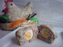 Muffinki mięsne z jajkiem