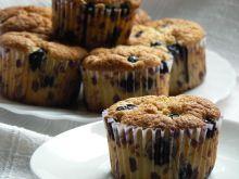 Muffinki migdałowe z borówkami