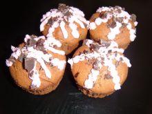 Muffinki na bazie mlecznej czekolady