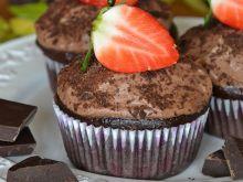 Muffinki o smaku gorzkiej czekolady