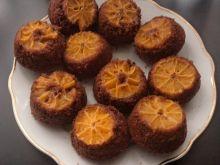 Muffinki odwrócone z mandarynkami