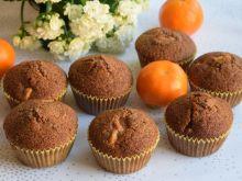 Muffinki piernikowe z mandarynką i kaszą manną