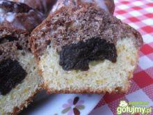 Muffinki pomarańczowo-kakaowe