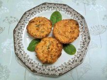 Muffinki szpinakowo - owsiane