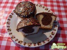 Muffinki waniliowo czekoladowe
