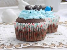 Muffinki wielkanocne z cukierkami